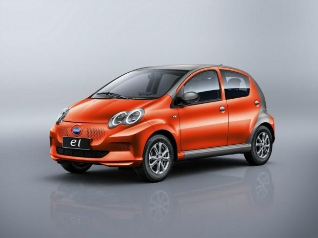 Китайцы представили электрическую копию Toyota Aygo 2