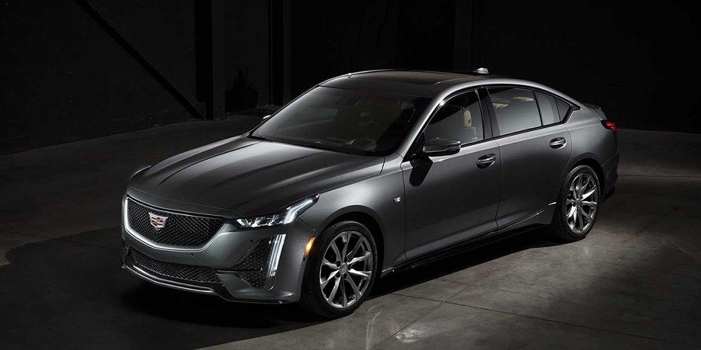 Cadillac представил новый седан CT5 2