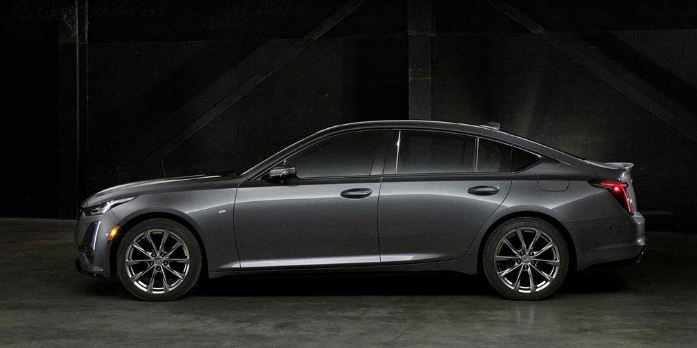 Cadillac представил новый седан CT5 1