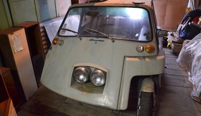 В Минске найден уникальный микро-автомобиль на базе мотоцикла «Ява» 1