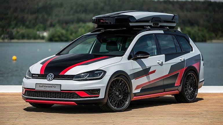 Volkswagen уже принимает заказы на газовый Golf универсал 1