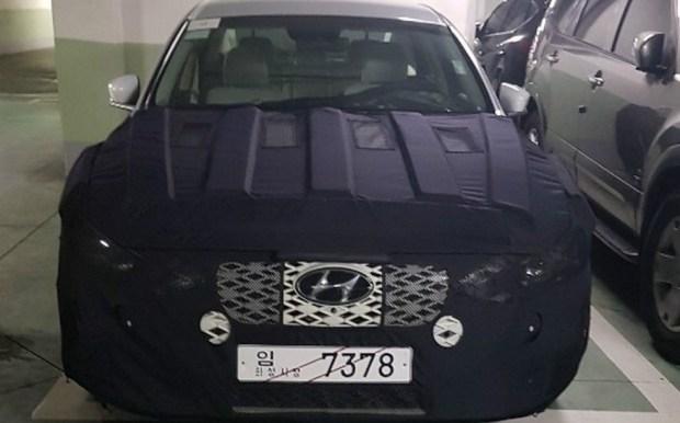 Бестселлер Hyundai обновят в стиле премиального седана Genesis G90 1