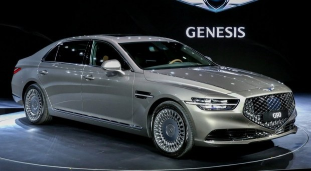 Бестселлер Hyundai обновят в стиле премиального седана Genesis G90 2