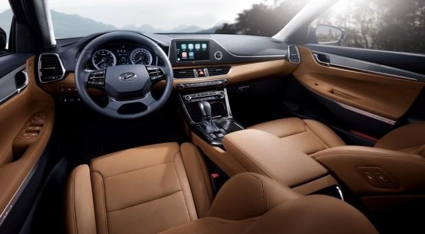 Бестселлер Hyundai обновят в стиле премиального седана Genesis G90 3
