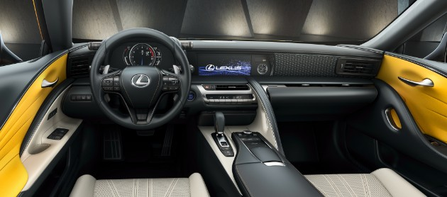 Lexus объявил старт продаж ярко-желтого спорткупе LC 500 1
