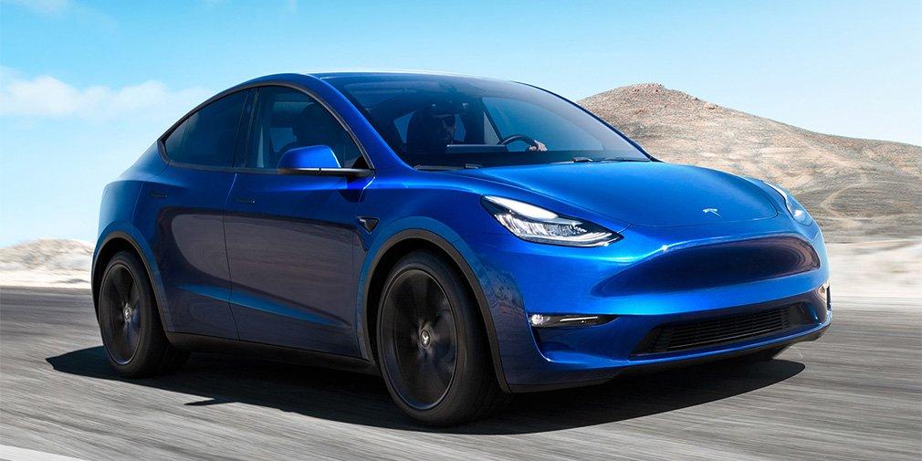 Tesla представила новый электрический кроссовер 1