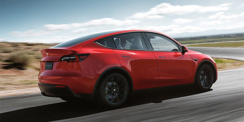 Tesla представила новый электрический кроссовер 2