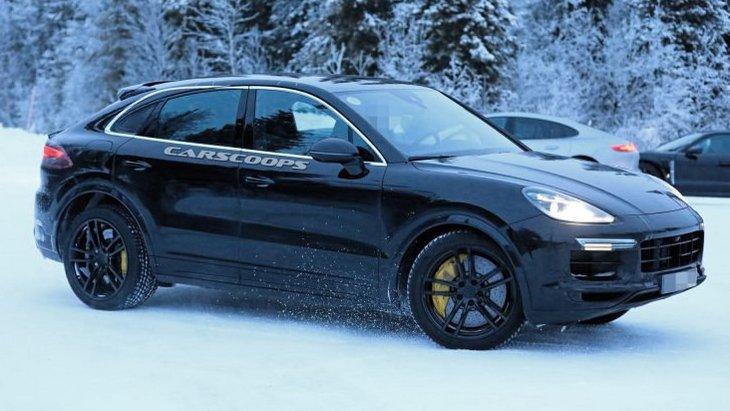 Porsche уже в 2019 году выпустит купеобразный Cayenne 1