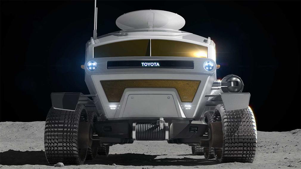Компания Toyota разработает луноход 2