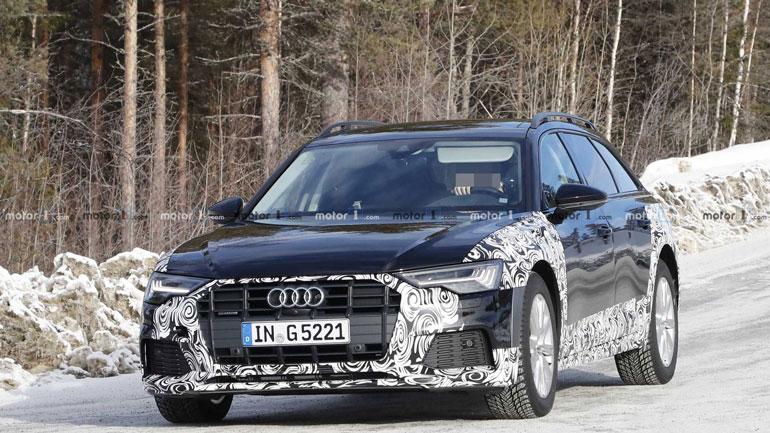 Новую Audi A6 Allroad заметили во время тестов 1