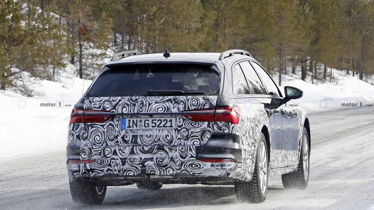 Новую Audi A6 Allroad заметили во время тестов 2