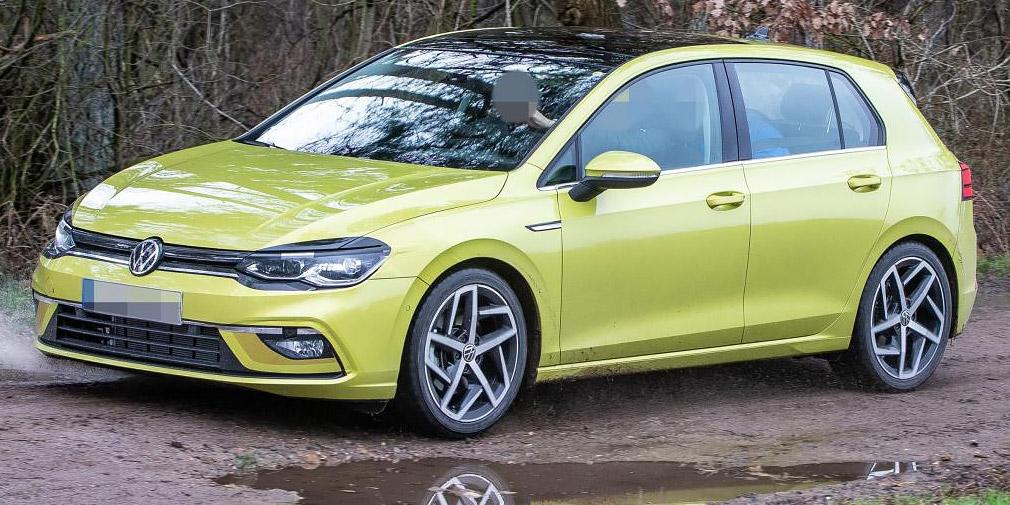 Дизайн нового Volkswagen Golf рассекретили до премьеры 1