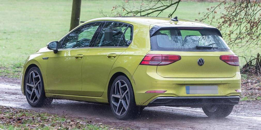 Дизайн нового Volkswagen Golf рассекретили до премьеры 2