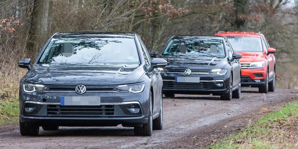 Дизайн нового Volkswagen Golf рассекретили до премьеры 3