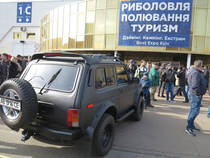 Рамная Нива – крутой автотюнинг по-украински 1