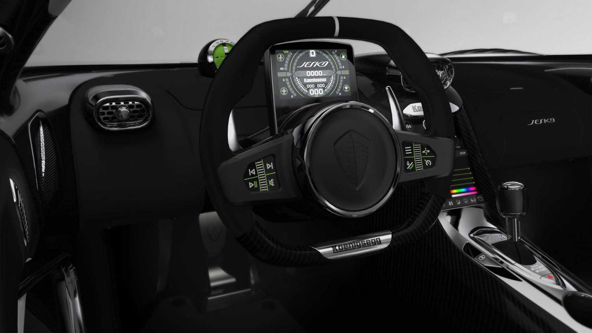 Мегакар Koenigsegg Jesko поборется за рекорд скорости 2