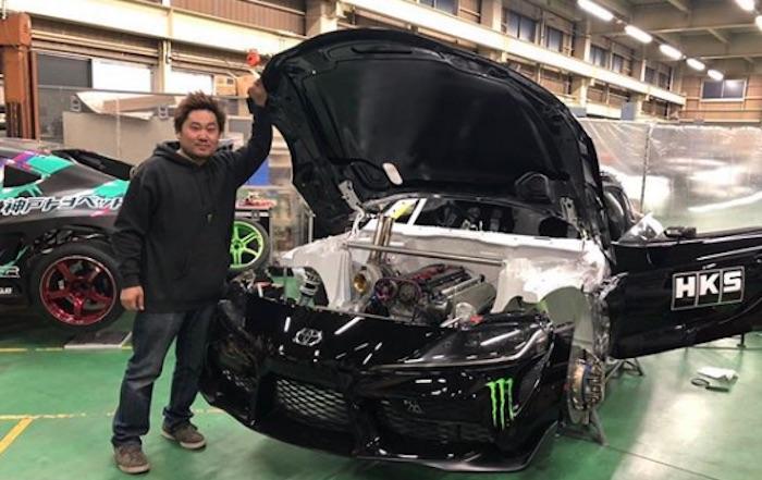 Японец установил в новую Toyota Supra мотор 2JZ 1