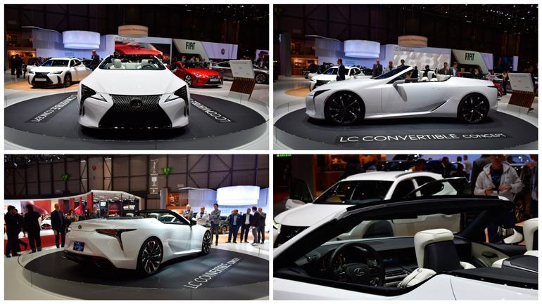 Lexus показал в Женеве концепт нового LC Convertible 1