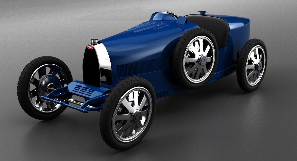 Новый Bugatti Baby: не только для детей 2