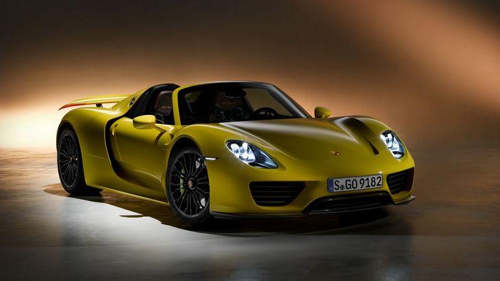Porsche выпустит преемника 918 Spyder 1