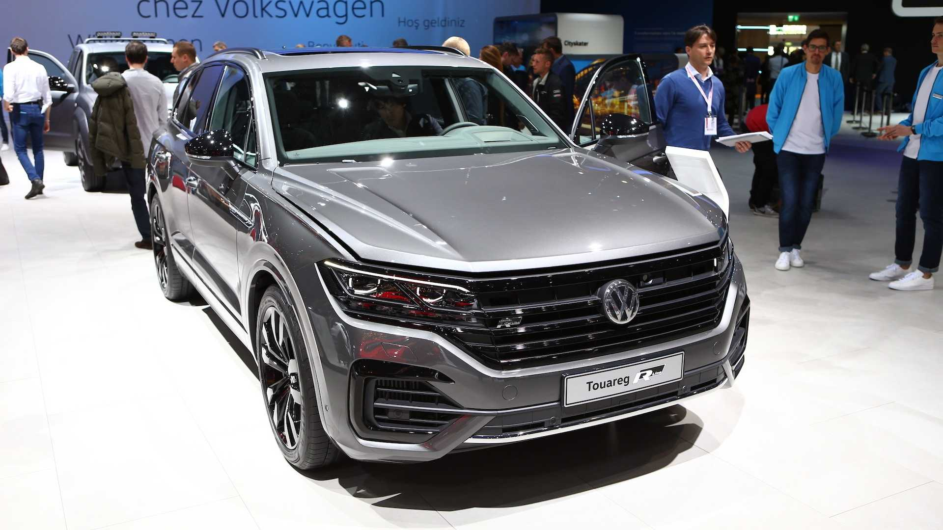 Самый мощный дизельный VW Touareg станет и самым последним 1