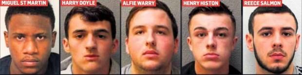 В Великобритании осудили банду мопедистов 1