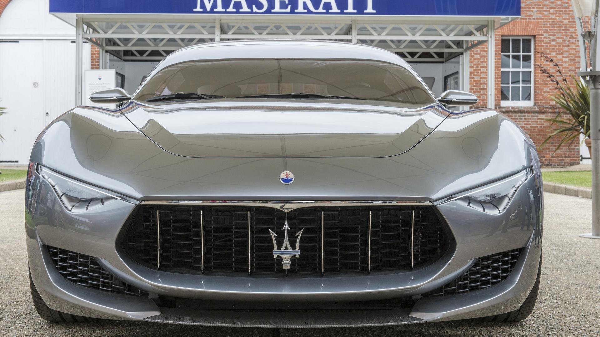 Серийную Maserati Alfieri покажут в Женеве в 2020 году 1