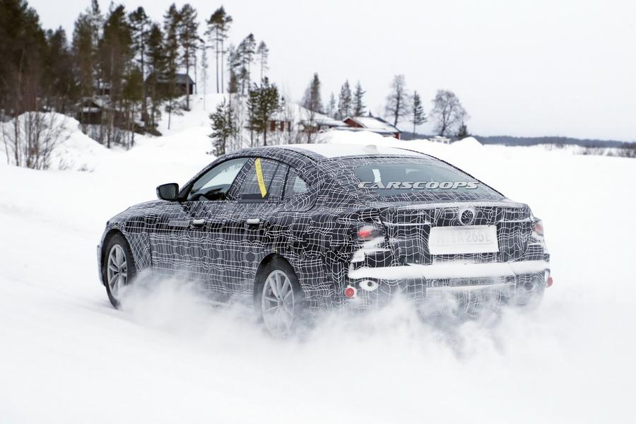 BMW i4 готовится к битве с Tesla Model 3 и Polestar 2 2
