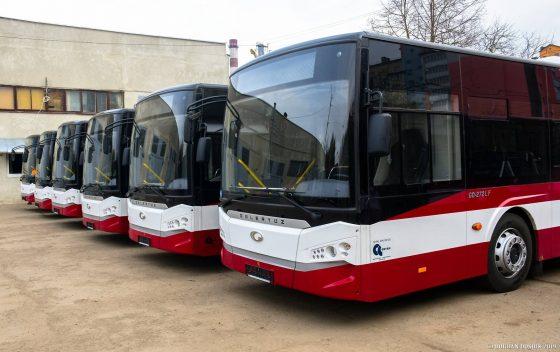 На украинские дороги вышли турецкие автобусы 1