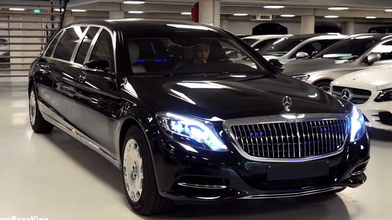 Mercedes-Maybach S600 Pullman Guard 2019 показали на видео 2
