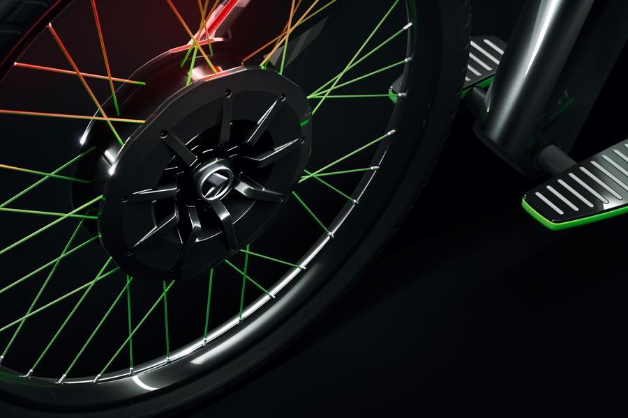 Skoda выпустила велосипед без педалей 2