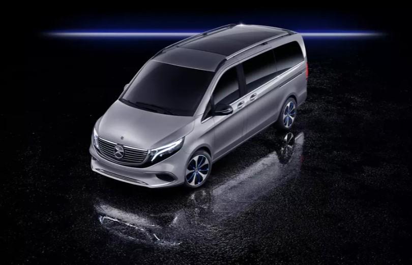 Электроминивэн Mercedes-Benz EQV проедет без подзарядки 400 километров 1