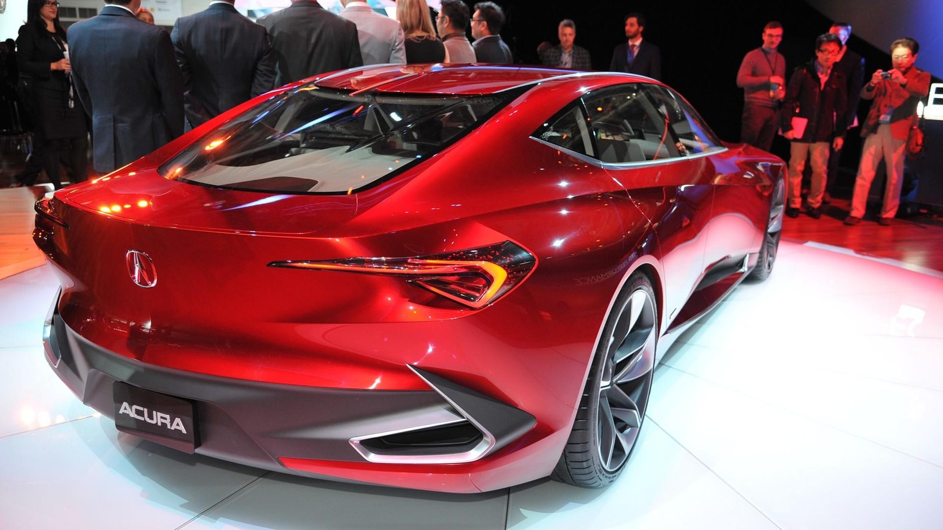 Acura выпустит четырехдверный суперкар 2