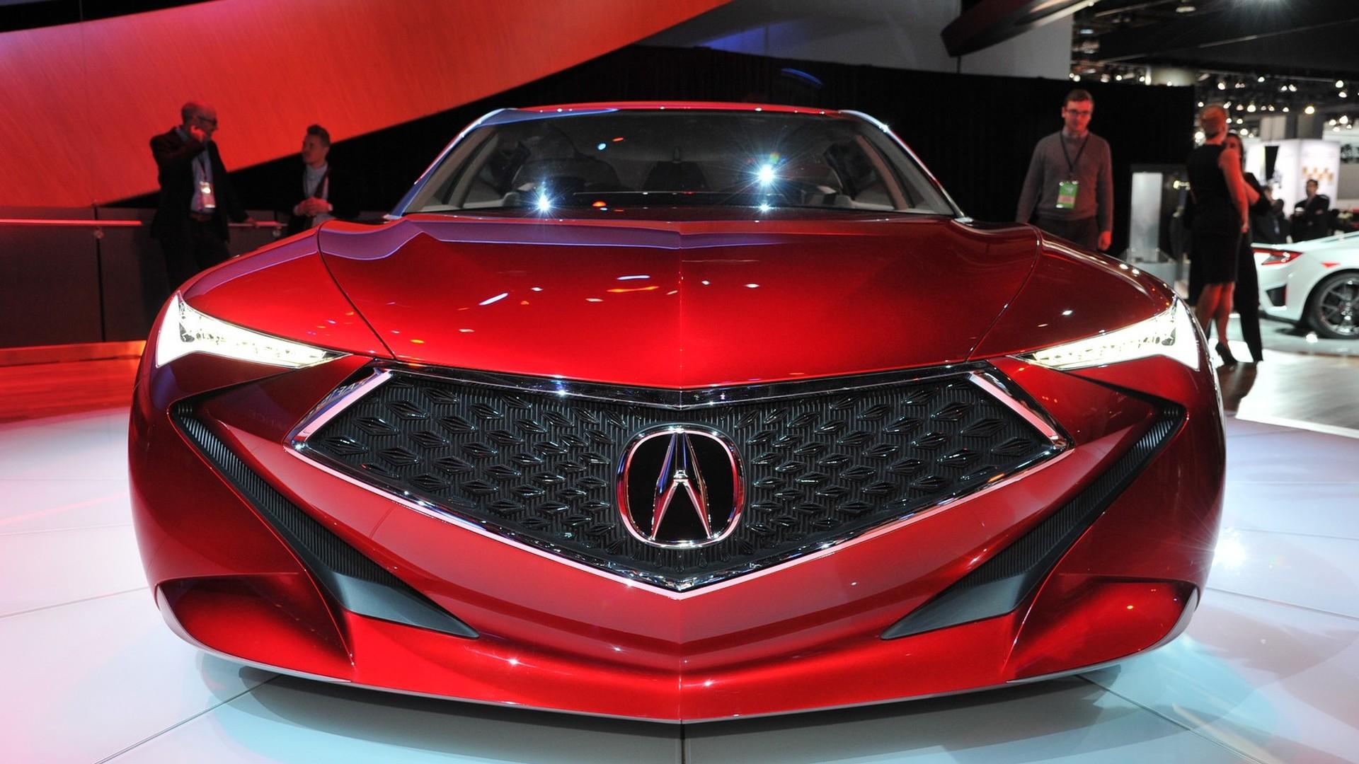 Acura выпустит четырехдверный суперкар 1