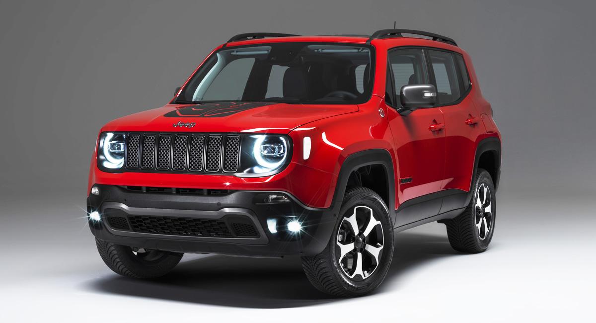 Jeep Renegade и Compass начали гибридизацию марки 2