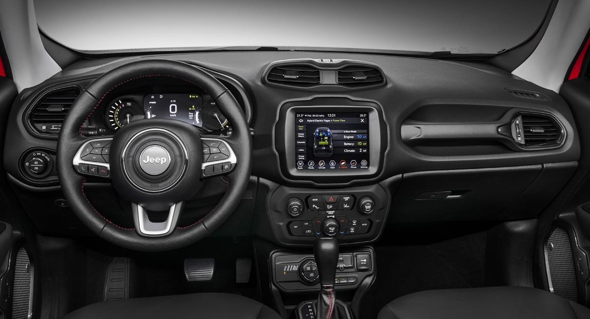 Jeep Renegade и Compass начали гибридизацию марки 3