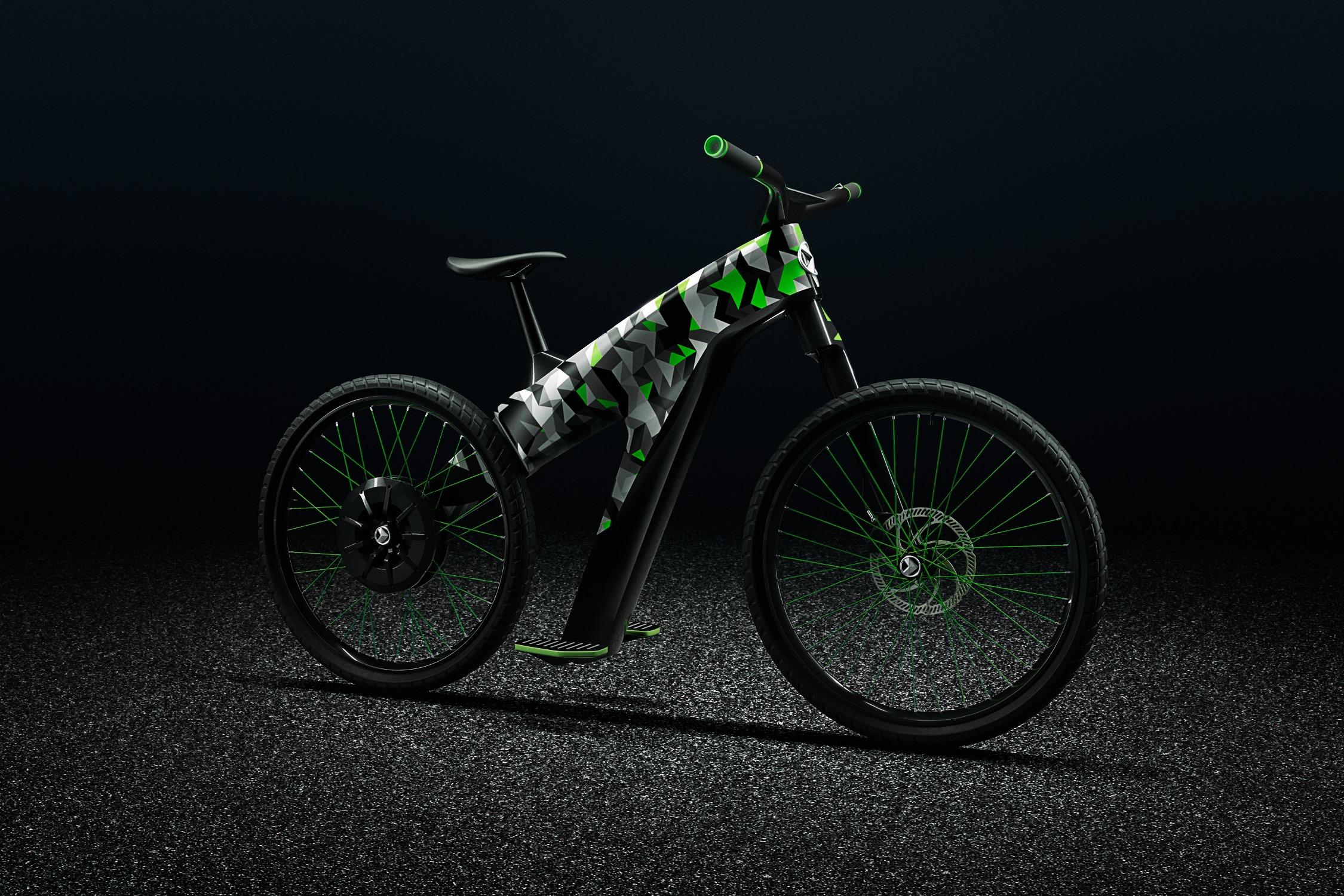 Skoda выпустила велосипед без педалей 1