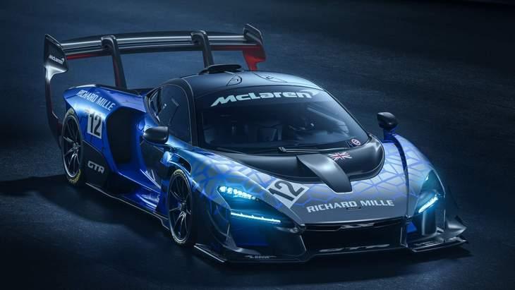 McLaren представил новейший Senna GTR 1