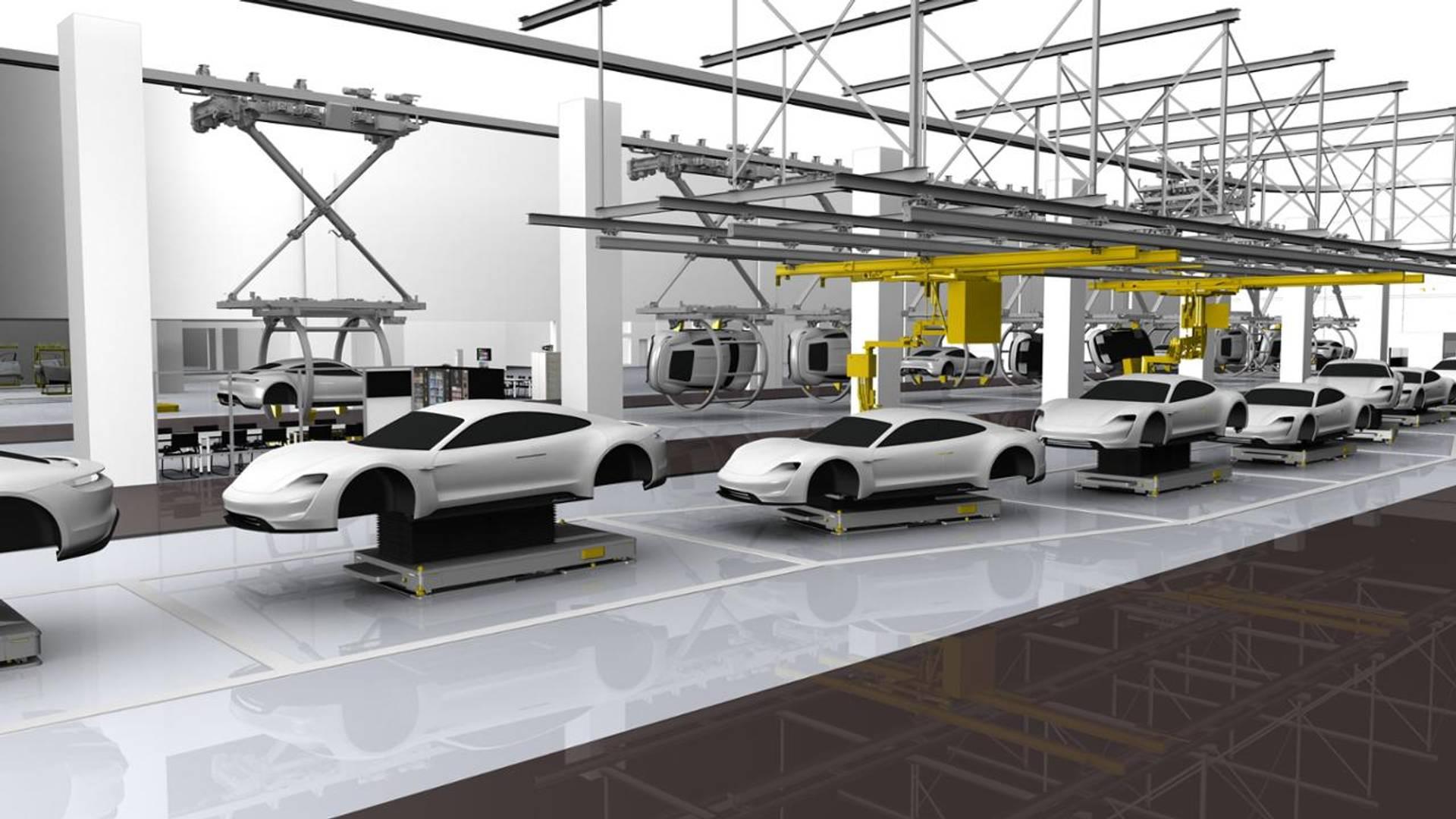 Названа дата дебюта серийного Porsche Taycan 1