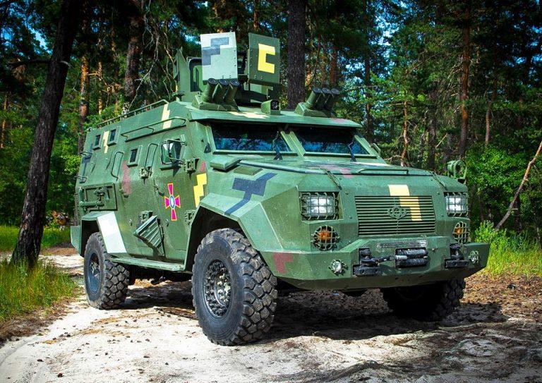 Новый украинский бронеавтомобиль успешно завершил испытания 1