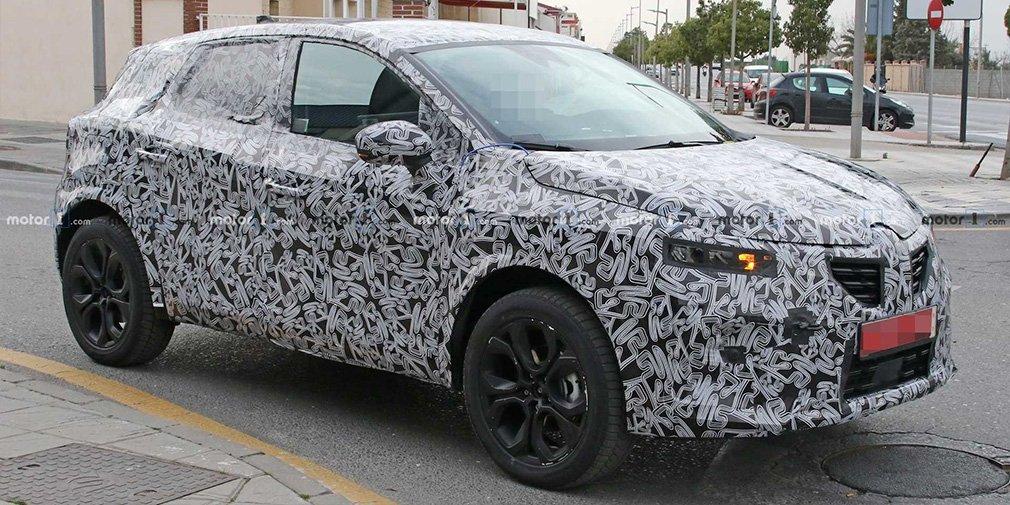 Renault Captur нового поколения превратят в гибрид 1