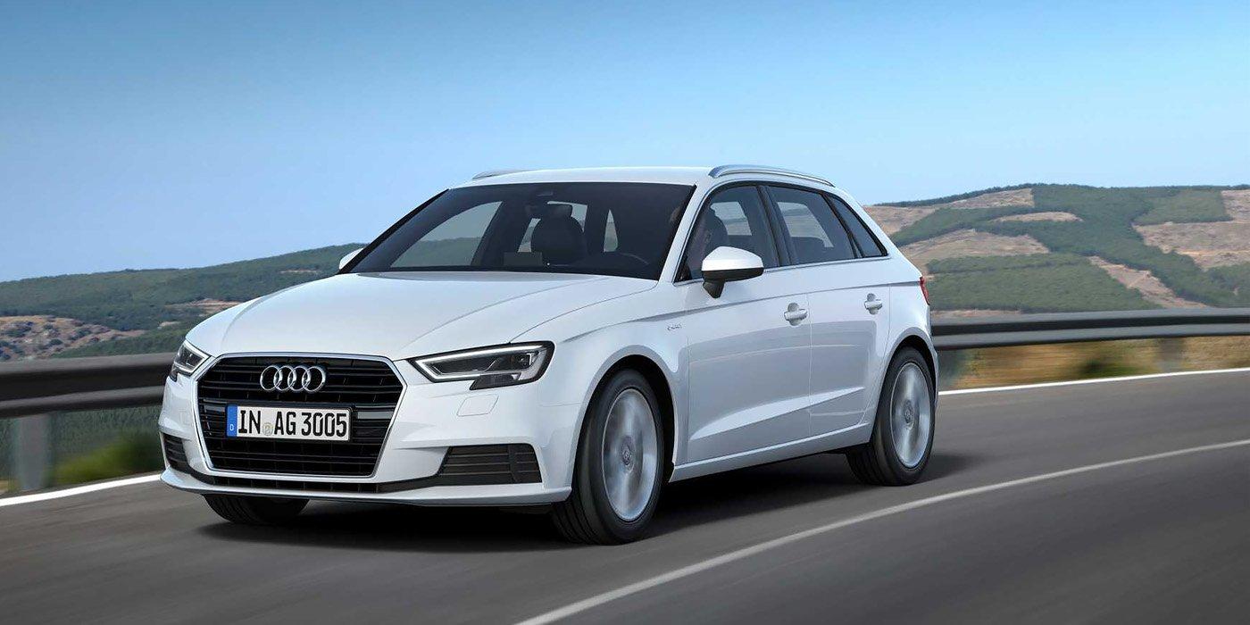 Хэтчбек Audi A3 на газе стал мощнее 2