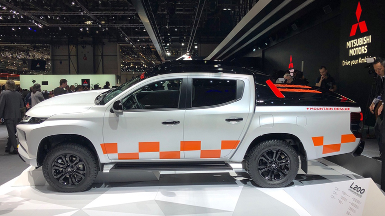 Mitsubishi презентовала новый L200 2