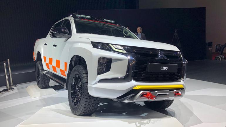 Mitsubishi презентовала новый L200 1
