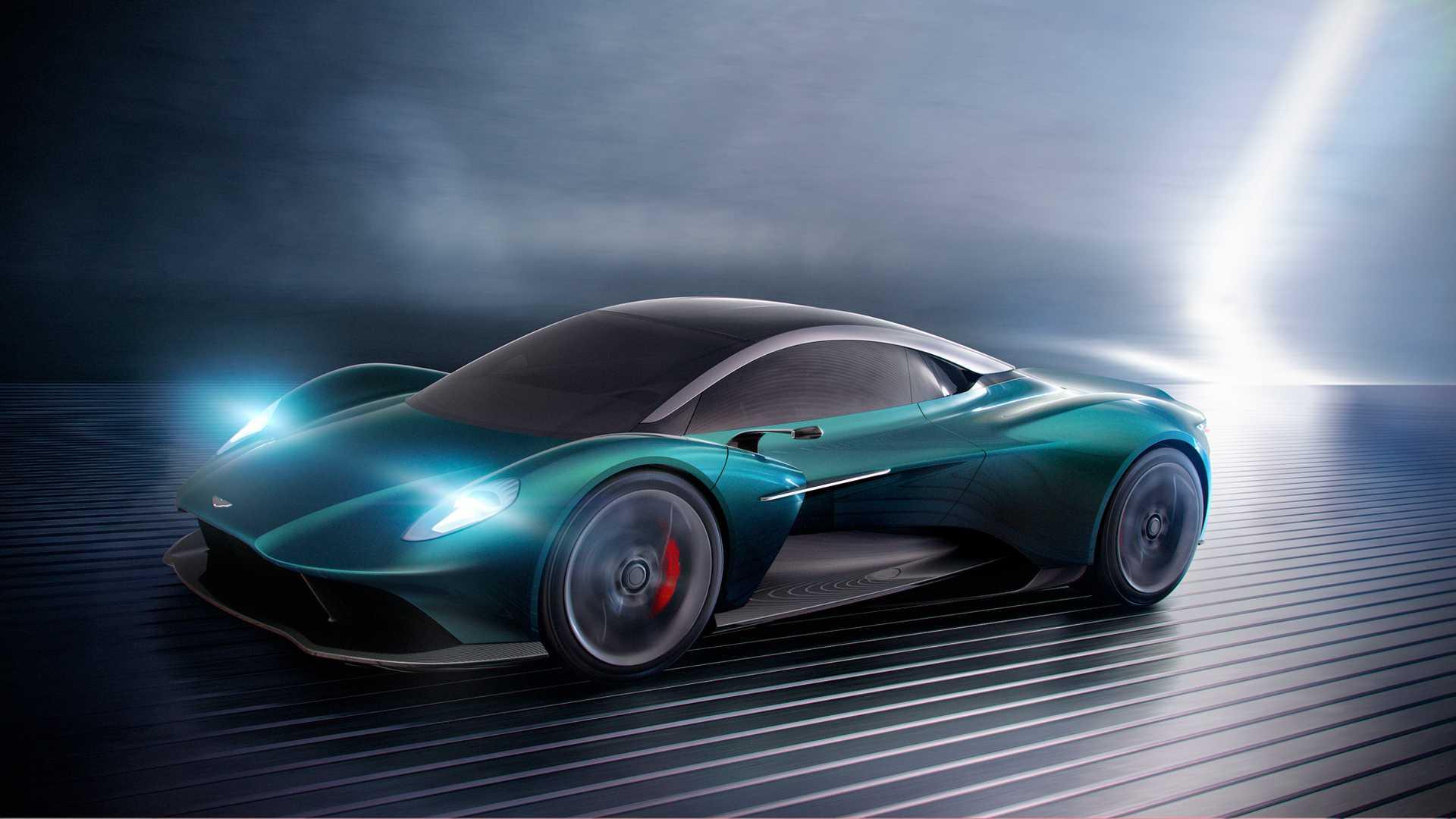 Aston Martin превратит Vanquish в среднемоторный спорткар 2