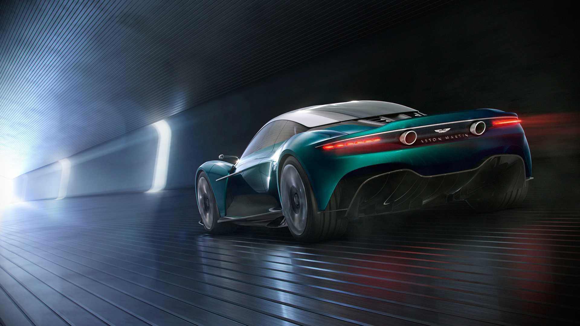 Aston Martin превратит Vanquish в среднемоторный спорткар 3