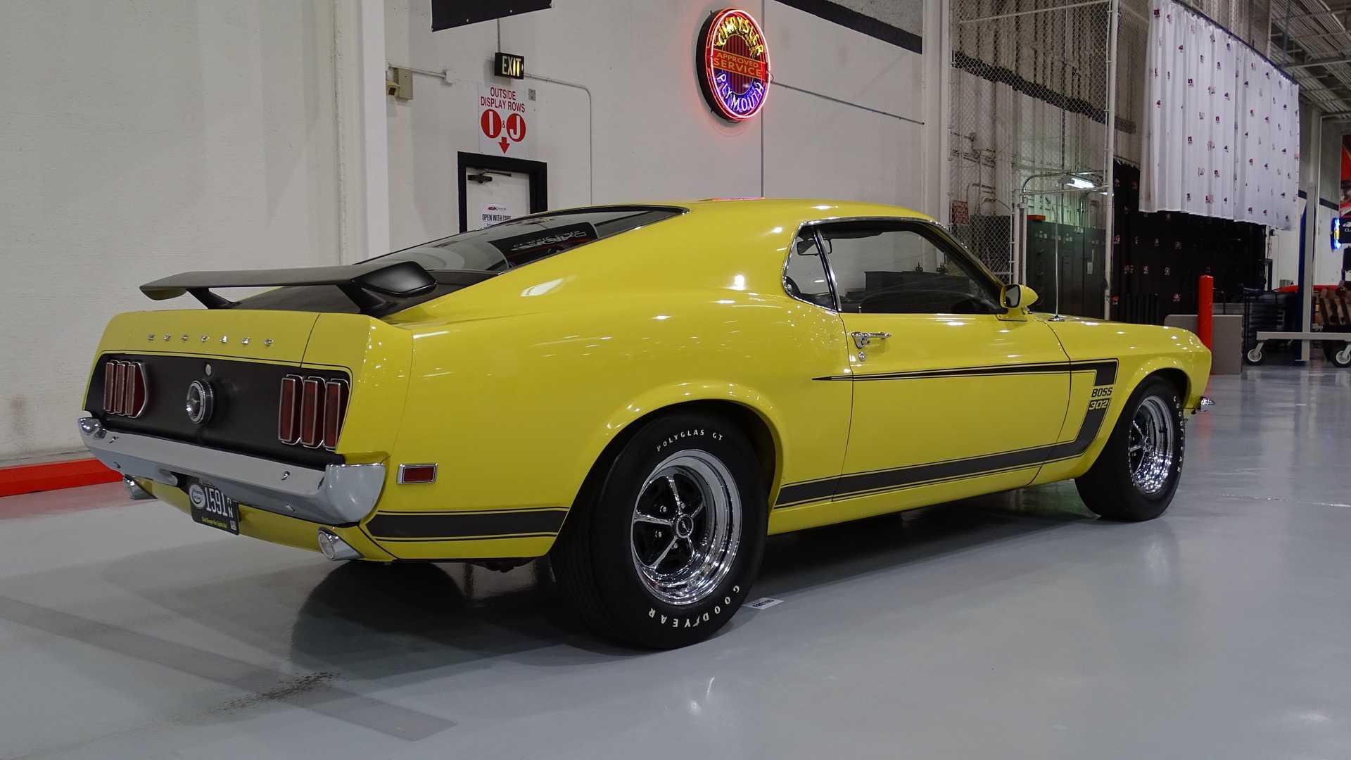 Уникальный Ford Mustang пустят «с молотка» 2