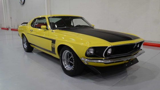 Уникальный Ford Mustang пустят «с молотка» 1