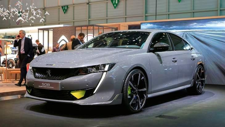 Peugeot обещает запустить в серию спортивный концепт 508 Sport Engineered 1