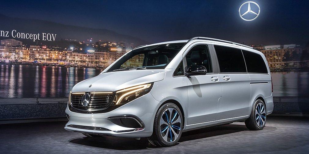Mercedes разработал электрический минивэн с запасом хода в 400 километров 1
